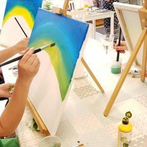 Watercolour Canvas Painting Workshop
