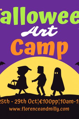 Halloween Art Camp 21